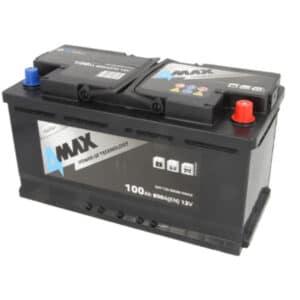 Akumulator 4Max12V 100Ah 800A