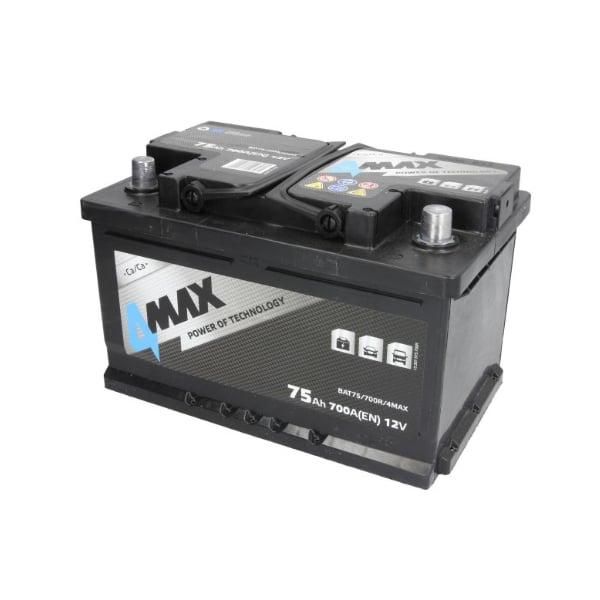 Akumulator 4Max12V 75Ah 700A