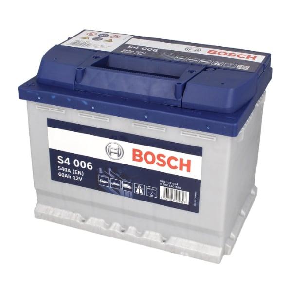 Akumulator BOSCH S4 12V 60Ah 540A 0092S40060
