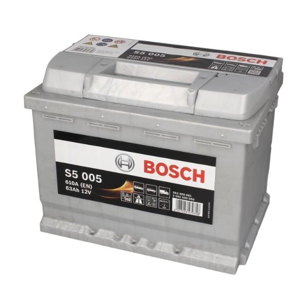 Akumulator BOSCH S5 12V 63Ah 610A 0092S50050
