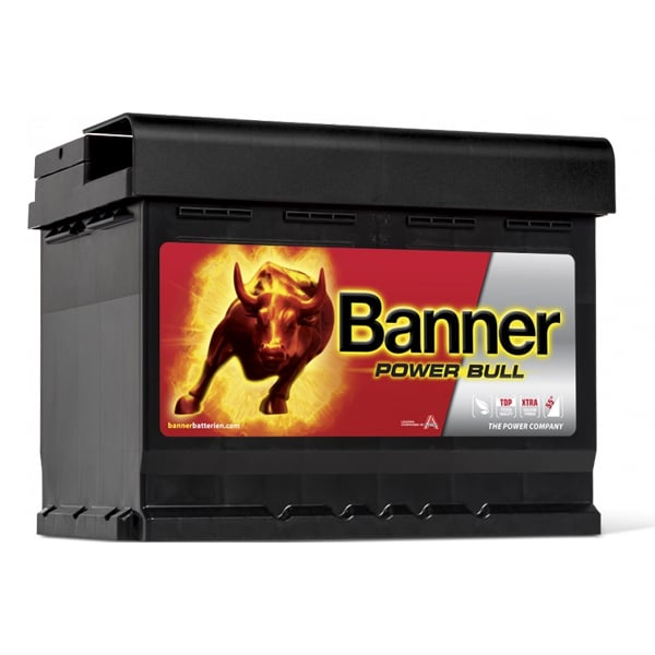 Akumulator Banner Power Bull 12V 62Ah 550A