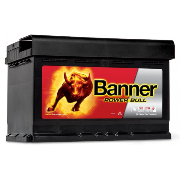Akumulator Banner Power Bull 12V 74Ah 680A