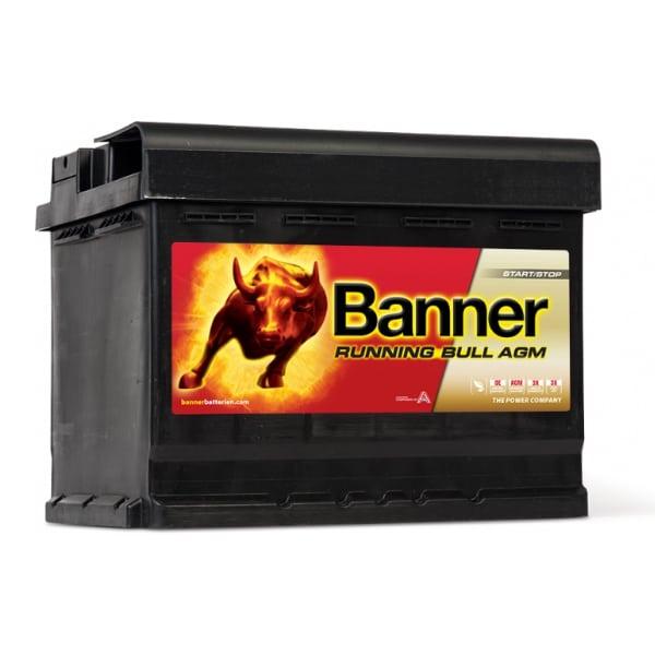 Akumulator Banner Running Bull AGM 12V 60Ah 640A